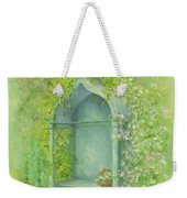 A Seat In The Garden Weekender Tote Bag by Garry Walton
