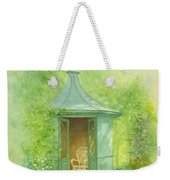 A Seat In The Summerhouse Weekender Tote Bag