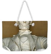 A Seated Abe Lincoln Weekender Tote Bag