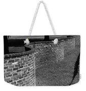 A Serpentine Brick Wall Weekender Tote Bag