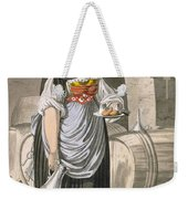 A Serving Girl At An Inn Weekender Tote Bag