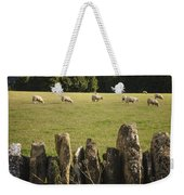 A Sheep's Field Weekender Tote Bag