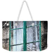 A Ship In The Green Window Weekender Tote Bag