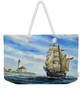 A Ship There Is Weekender Tote Bag