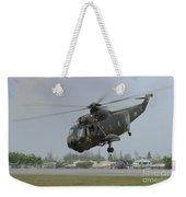 A Sikorsky S-61a4 Helicopter Weekender Tote Bag