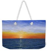 A Silent Moment Weekender Tote Bag