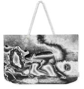 A Silvery Horny Day Weekender Tote Bag