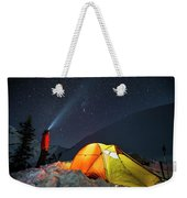 A Single 30-second Exposure Shows Weekender Tote Bag