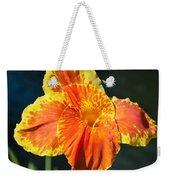 A Single Orange Lily Weekender Tote Bag