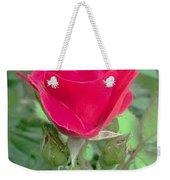 A Single Red Rose Weekender Tote Bag
