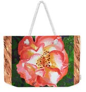 A Single Rose The Dancing Swirl  Weekender Tote Bag