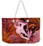 A Skull In The Rocks Weekender Tote Bag