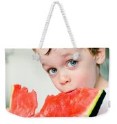 A Slice Of Life Weekender Tote Bag