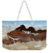 A Slow Death In Piano Valley - Panoramic Weekender Tote Bag