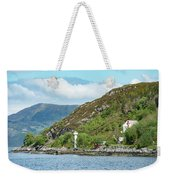 A Small House With A Navigational Weekender Tote Bag
