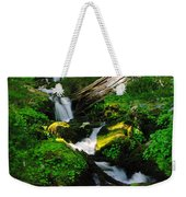 A Small Slice Of Paradise Weekender Tote Bag
