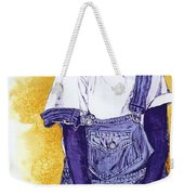 A Smile For You From Haiti Weekender Tote Bag by Margaret Bobb