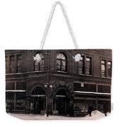 A Snow Day Weekender Tote Bag