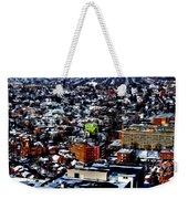 A Snowy City...buffalo Ny 2013 Weekender Tote Bag