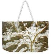 A Snowy Tree Weekender Tote Bag
