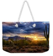 A Sonoran Desert Sunrise Weekender Tote Bag