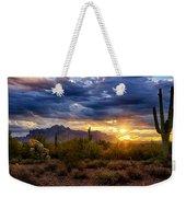 A Sonoran Desert Sunrise Weekender Tote Bag