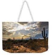 A Sonoran Desert Sunset  Weekender Tote Bag