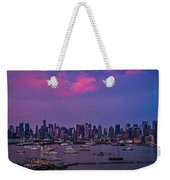 A Spectacular New York City Evening Weekender Tote Bag