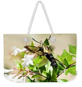 A Sphinx's Pollination Weekender Tote Bag