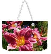 A Splash Of Lilies Weekender Tote Bag