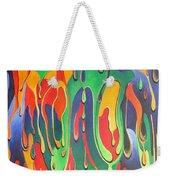 A Splash Of Paint Weekender Tote Bag