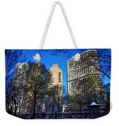 A Spring Day At Rittenhouse Square Weekender Tote Bag
