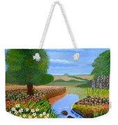 A Spring Stream Weekender Tote Bag
