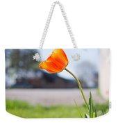 A Spring Tulip Weekender Tote Bag