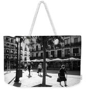 A Square In Toledo - Spain Weekender Tote Bag
