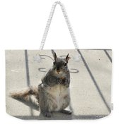 A Squirrel Known As Chippy Weekender Tote Bag