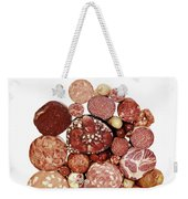 A Stack Of Sausages Weekender Tote Bag