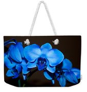 A Stem Of Beautiful Blue Orchids Weekender Tote Bag