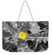 A Sticky Flower Weekender Tote Bag