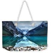 A Still Day At Lake Louise Weekender Tote Bag