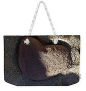 A Stone Heart Weekender Tote Bag