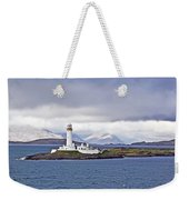 A Storm And The Lighthouse Weekender Tote Bag