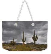 A Storm In The Sonoran Desert Weekender Tote Bag