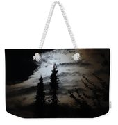 A Storm's Comin Weekender Tote Bag