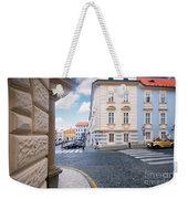 A Street In Prague Weekender Tote Bag
