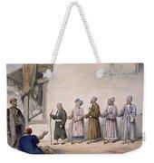 A String Of Blind Beggars, Cabul, 1843 Weekender Tote Bag