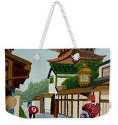 A Stroll In Old Kyoto Weekender Tote Bag