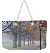 A Stroll In Salem Fog Weekender Tote Bag