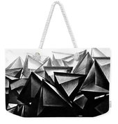 A Structure Rises Weekender Tote Bag