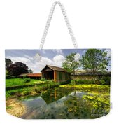 a Suffolk Barn Weekender Tote Bag